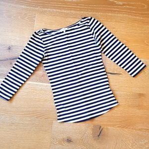 (Aritzia) Babaton striped top S